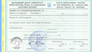 разрешение на работу иностранца ужгород